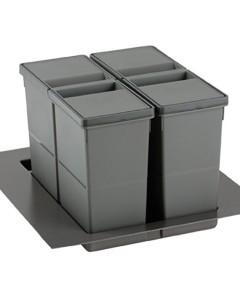 Набір контейнерів 9XL для секции 500-450-400 мм h 277 мм, 11+11 л